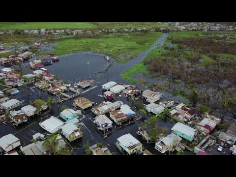 Puerto Rico memorial one year after Hurricane Maria
