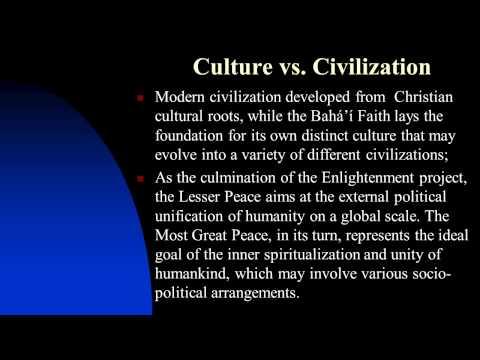 The Bahá'í Faith and Modernity: A Comparative Analysis