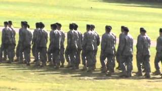 Fort Jackson South Carolina Army Basic Graduation 2012 Joshua Jongko