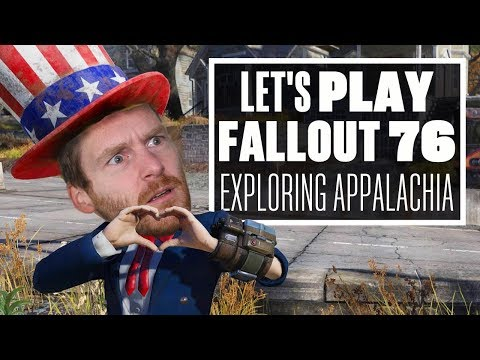Let's Play Fallout 76 LIVE - Ian Explores Appalachia
