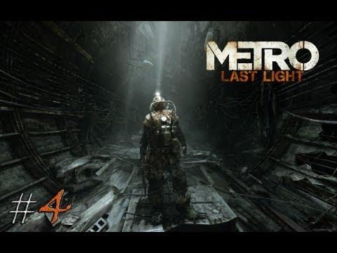 Смотреть прохождение игры Metro: Last Light. Серия 4 - Гаси свет, там они не выживут.