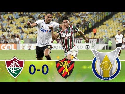 Melhores momentos - Fluminense 0 x 0 Sport - Campeonato Brasileiro (11/11/2018)