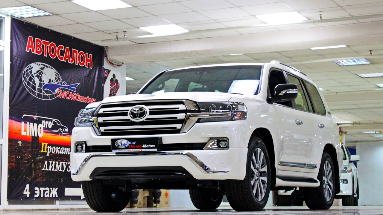 2017 Toyota Land Cruiser 200 Executive White CHICAGO ...