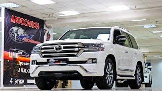 2017 Toyota Land Cruiser 200 Executive White CHICAGO MOTORS MOSCOW