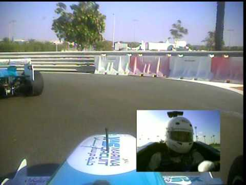 FORMULA YAS 3000, onboard Yas Marina Circuit, Abu Dhabi, UAE