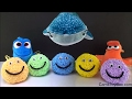 Finding Dory Clay Foam Toy Surprises Fun for Kids Opening Hank Destiny Bailey Disney Pixar Toys