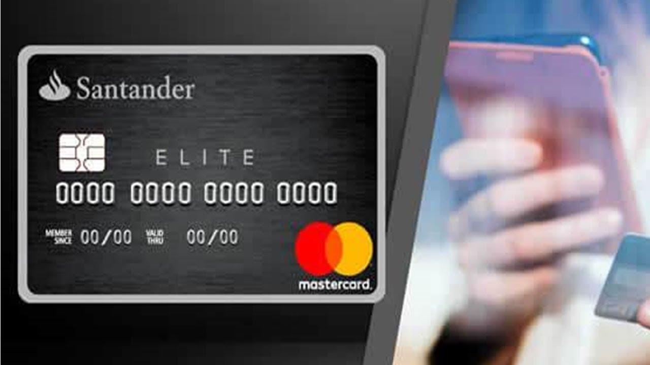 Conheça o cartão Elite Platinum Santander com super vantagens