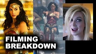 Wonder Woman 1984 Set Photos - New Costume, Running, Invisible Jet?!