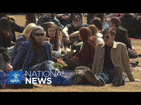 420: Biggest pot smoking party from Canada's capital | APTN News