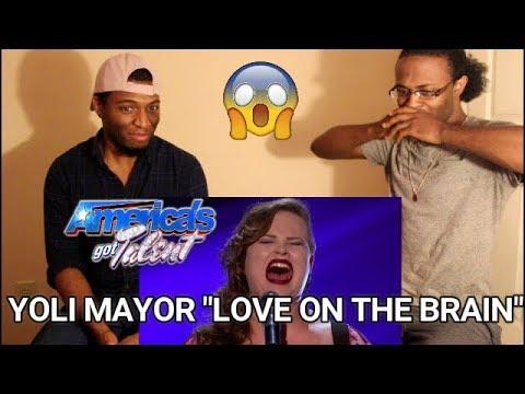 "Yoli Mayor: Miami Singer Kills ""Love On The Brain"" - America's Got Talent 2017 (REACTION)"