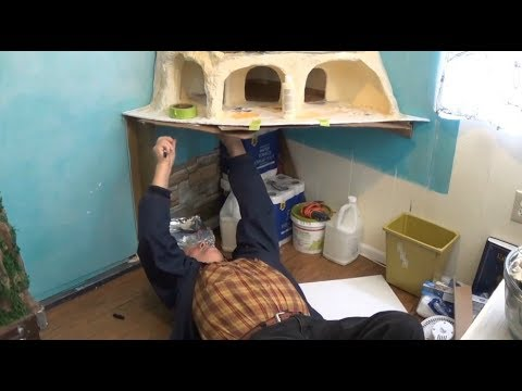 Tree Dollhouse  Part 17 Building Up The Bottom Level