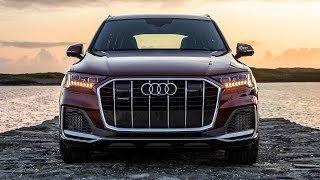 2020 NEW AUDI Q7 55TFSI - MAJOR FACELIFT - IS IT BETTER? 340HP/500NM - MATADOR RED - In detail