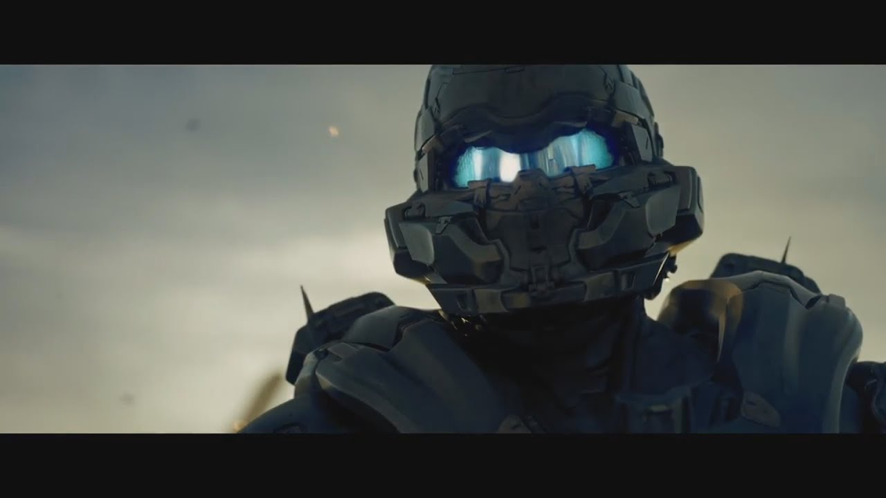 Cortana Animated Wallpaper Halo 5 Guardians Spartan Locke Finds Chief Trailer Youtube