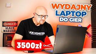 WYDAJNY LAPTOP DO GIER ZA 3500  ZŁ / Recenzja, test Lenovo IdeaPad L340