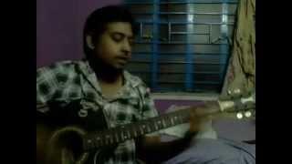 Download Hindi Video Songs - Tere Bina Jiya Jaye na by Vikash on Guitar