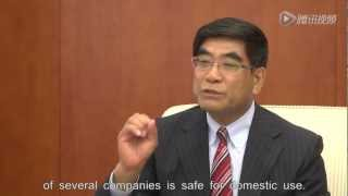 SINOPEC Chairman talked about climate change and sustainable energy .mpg