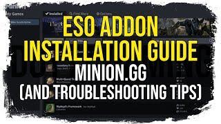 ESO Addon Installation & Minion Guide
