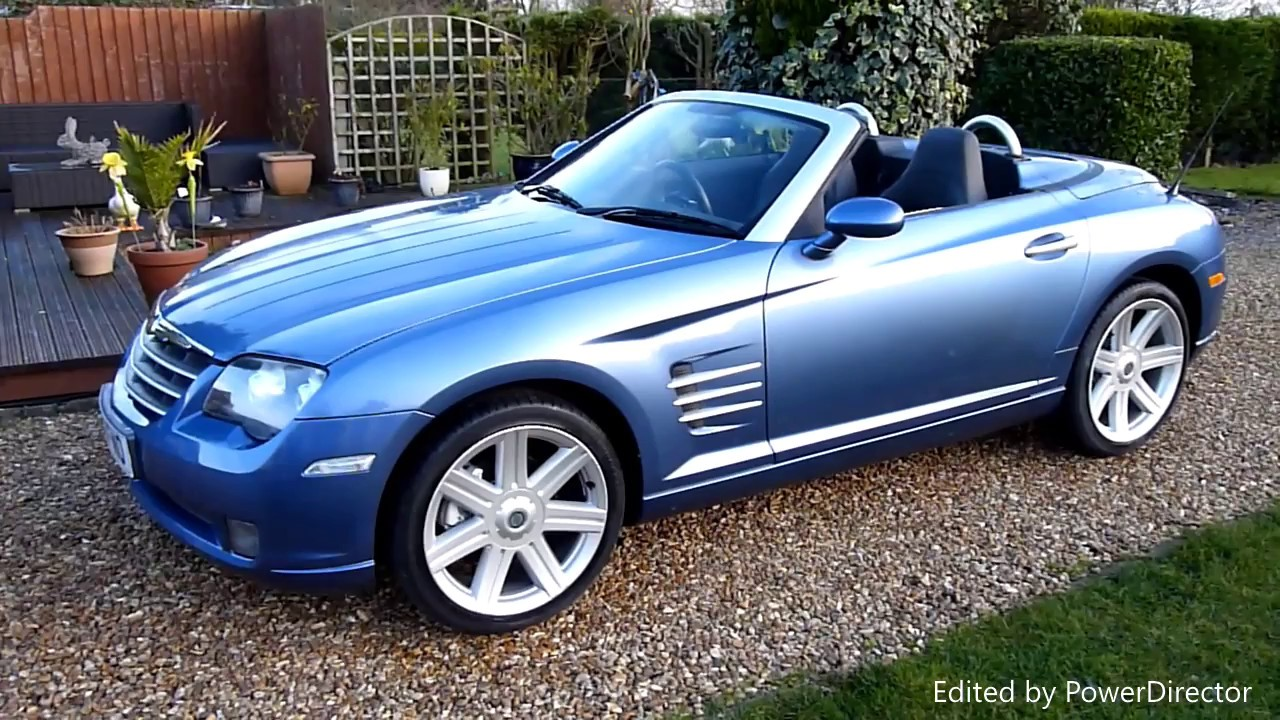 video review of 2007 chrysler crossfire convertible for sale sdsc specialist cars cambridge uk. Black Bedroom Furniture Sets. Home Design Ideas