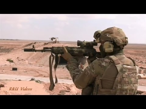 Contribution of the Russian Special Forces (SSO) into the liberation of Palmyra | March 2nd 2017