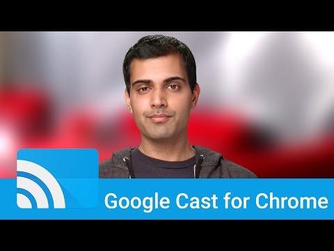 The Google Cast Framework API, for Chrome