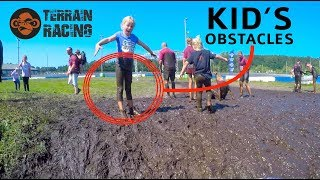 KID'S Terrain Race 2019 Obstacles  (Terrain Racing) - Seattle