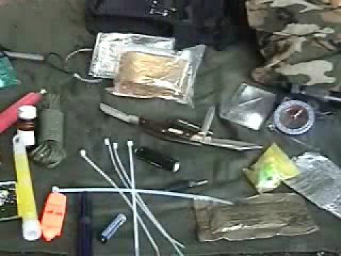 Basic Wilderness Survival Kit And Contents