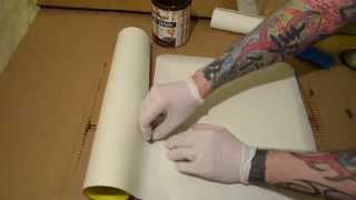 HOW TO - Mount Photographs to Wood Panel - PAPER UPDATE
