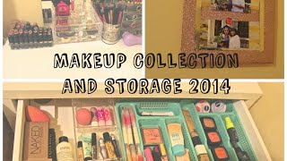 Makeup Collection and Storage 2014 | Karen Ponce Thumbnail
