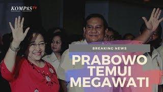 BREAKING NEWS - Prabowo Subianto Temui Megawati Soekarnoputri
