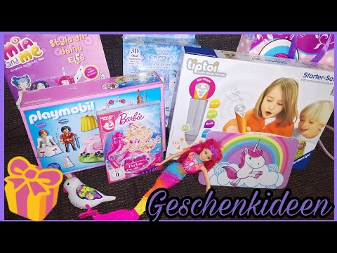 Geschenk-Ideen 4. Geburtstag / Mädchen / momika