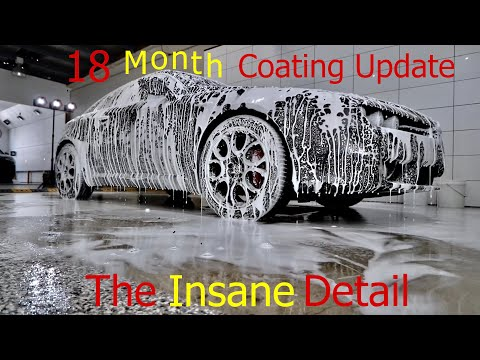 The Insane Detail 18 month Coating & Wash Update! Alfa Romeo Brera