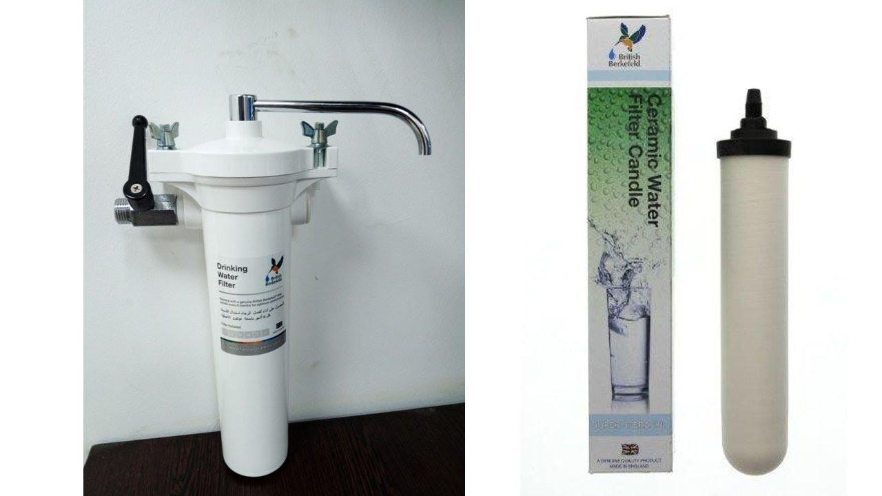 فلتر مياه دالتون الانجليزى British Berkefeld Hba Mkii Wall Mounted Drinking Water Filter Youtube