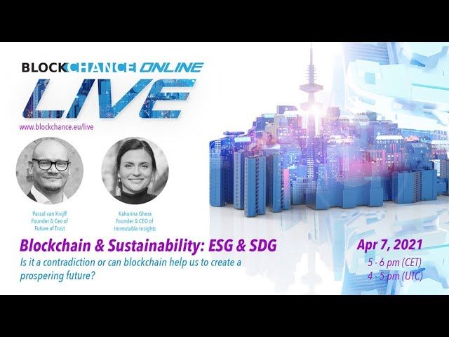 Blockchain & Sustainability: About Greenwashing & ESG w/ Katharina Gehra - BCO#8