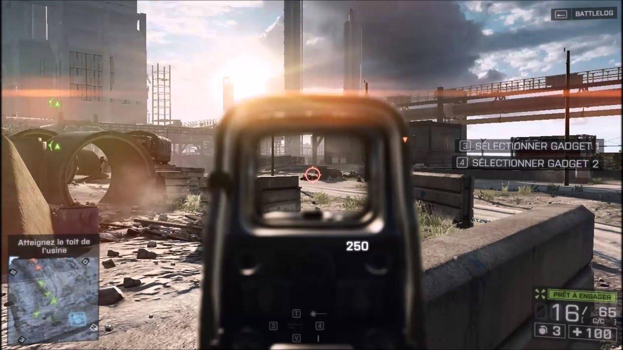 Battlefield 4 - R7 M265 - INSPRON 15 5000 HD GAMEPLAY