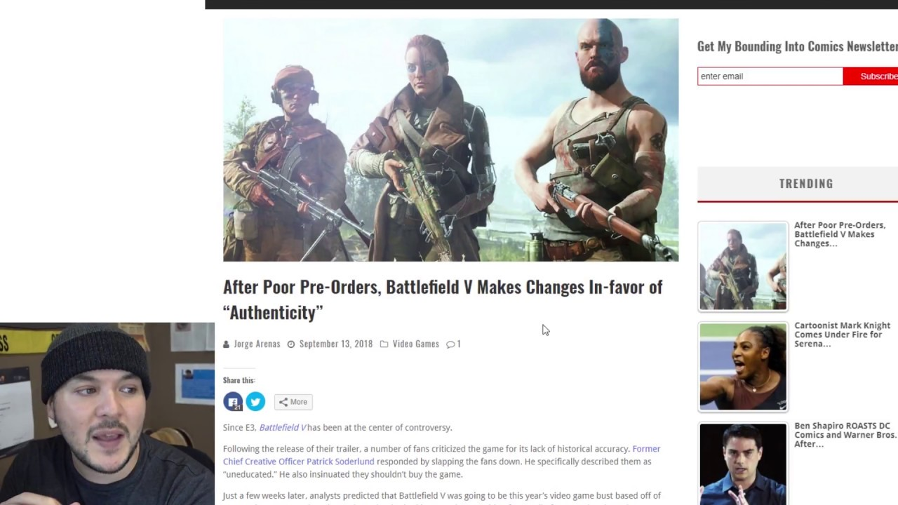 """Weekly Recap Sept 15th: EA Censors """"White Man"""", DICE Toning Down"""
