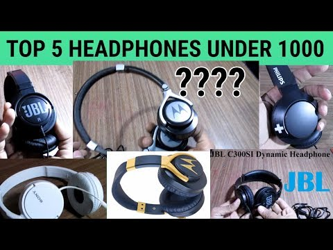 Top 5 Best Headphone Under Rs.1000 - JBL, Sony, motorola, Philips, Watch before buying