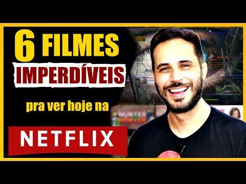 6 FILMES IMPERDÍVEIS na NETFLIX - SÓ FILMÃO