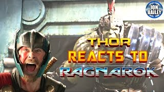 THOR REACTS TO RAGNAROK