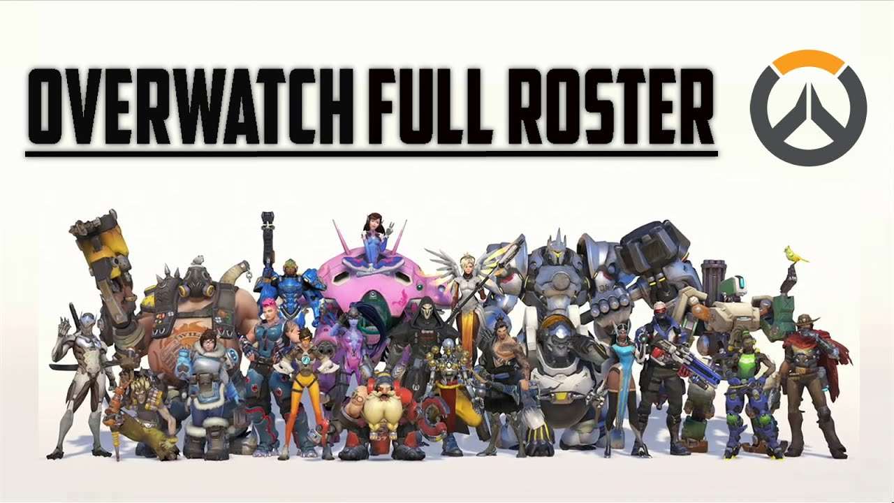 overwatch full roster all 21 original characters youtube