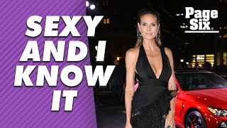 Heidi Klum has zero complaints about her body