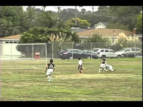 Galaxy Alliance vs NHB Black BU12  Coast Soccer League 2011