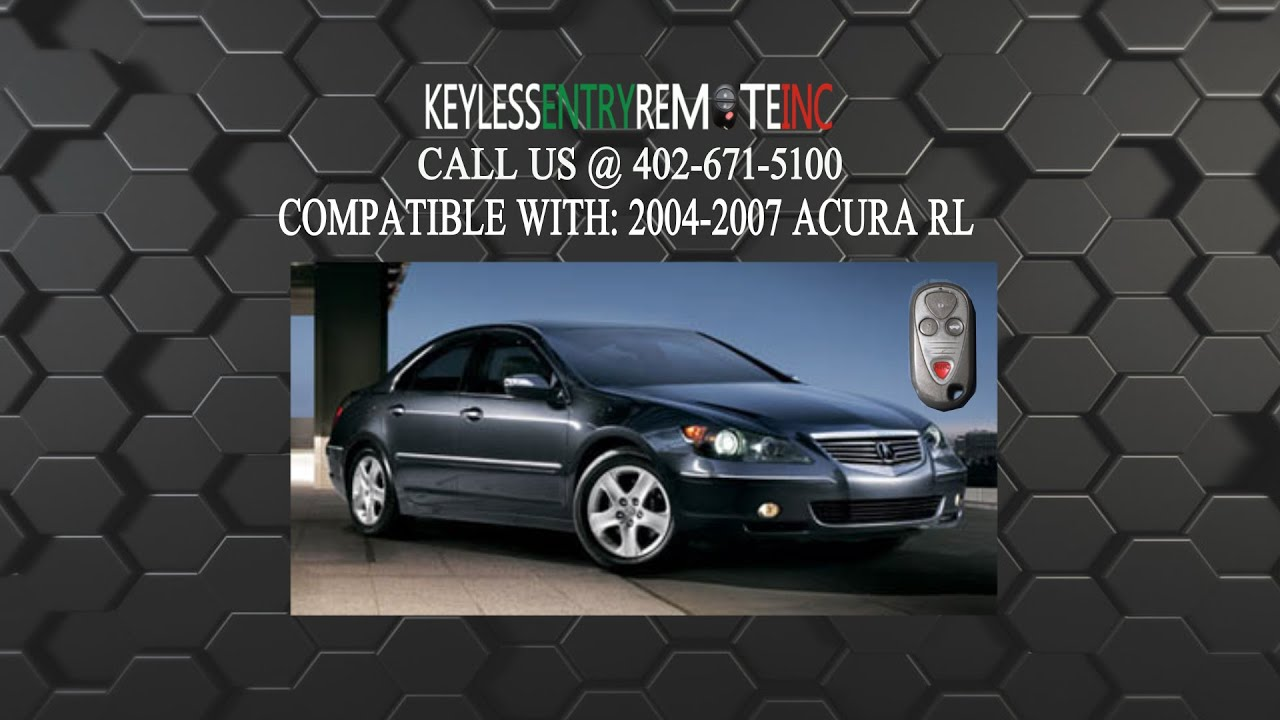 how to replace an acura rl key fob battery 2002 2004 [ 1280 x 720 Pixel ]