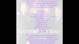 Backup Track - I Do Believe - Gaither Vocal Band.wmv