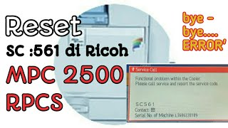 How To Reset Ricoh Printer