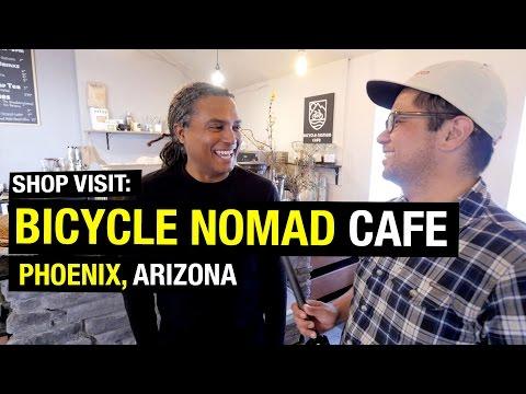 Shop Visit: Bicycle Nomad Cafe