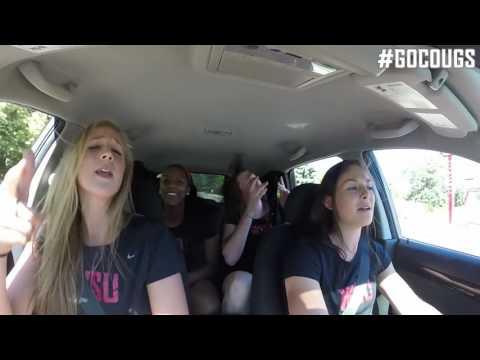 Carpool Karaoke with Cougar Volleyball