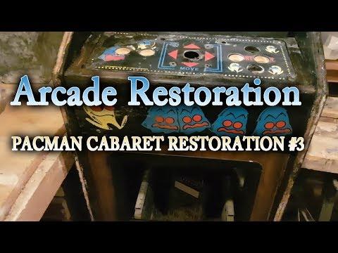 Arcade DIY #32   Pac Man Cabaret Cab restoration #3