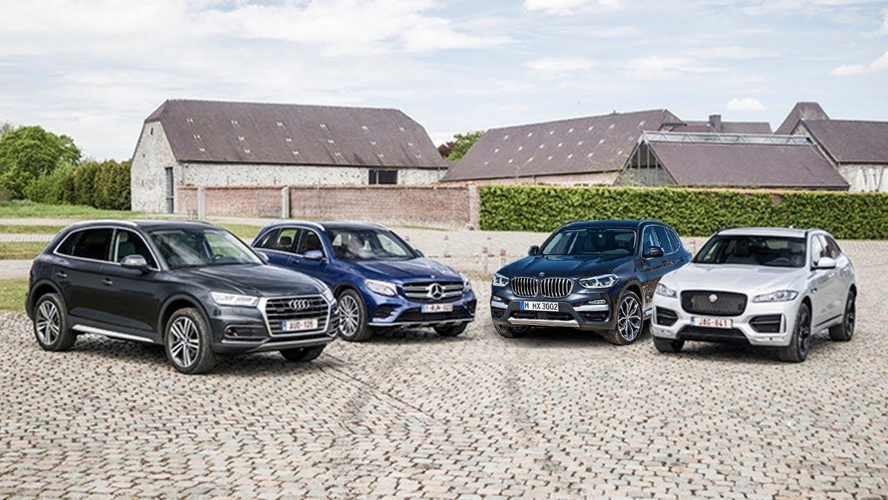 2017 Audi Q5 Vs 2018 Bmw X3 Vs 2017 Mercedes Glc Vs 2017