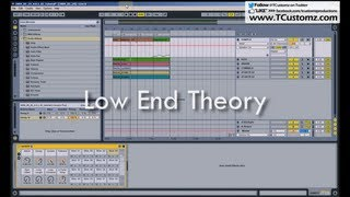 Low End Theory & HOW TO Filter a BASSLINE for a Sampled Hip Hop Beat, Sampling TUTORIAL, LPF