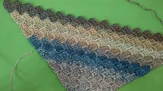 Бактус крючком МК / Crochet baktus C2C